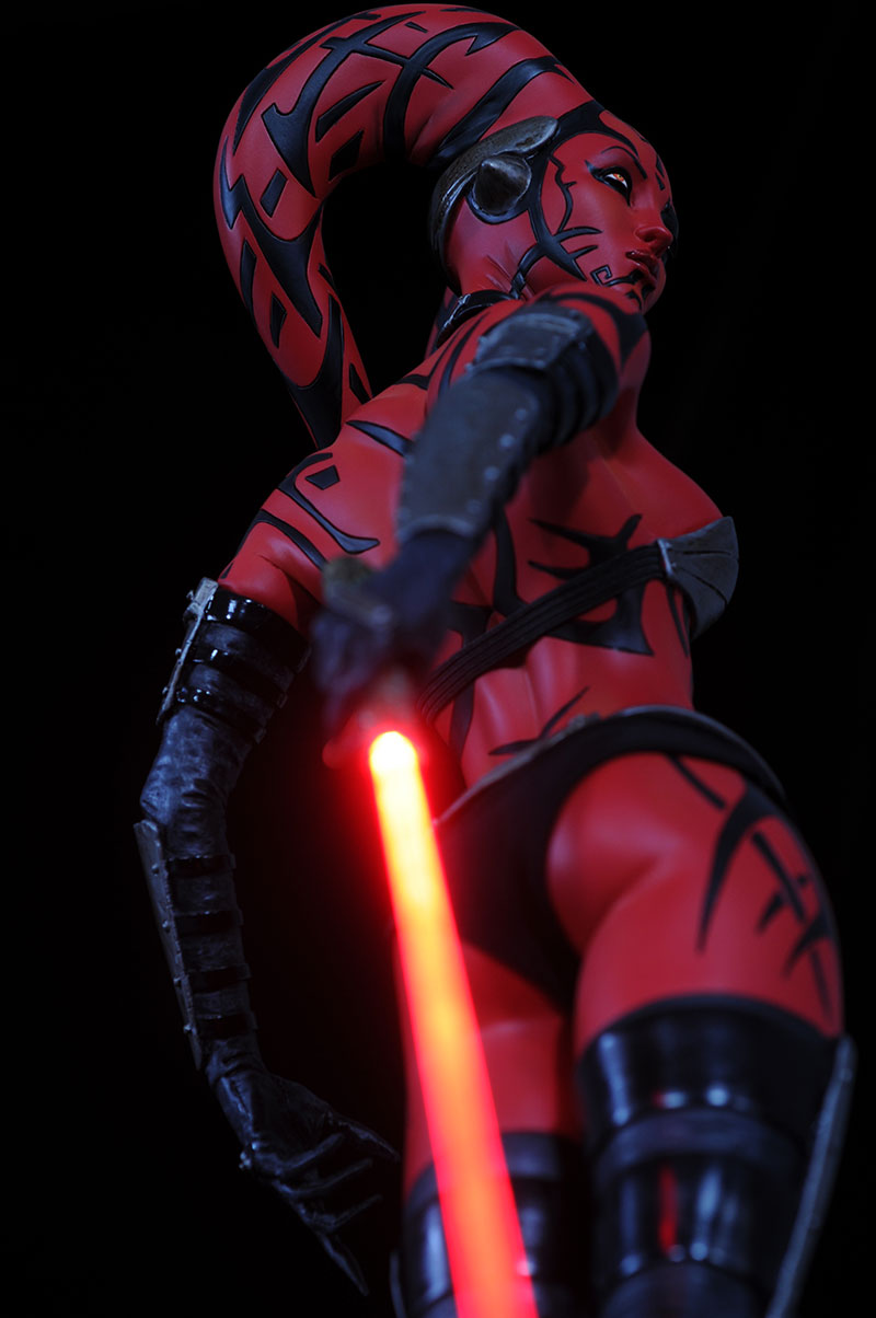 Darth Talon Premium Format statue by Sideshow Collectibles and mini-bust by Gentle Giant