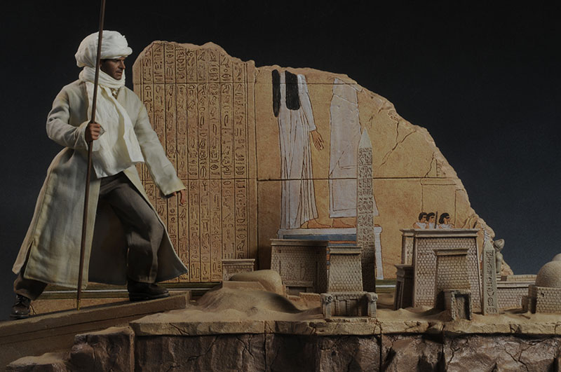 Tanis Map Room Indiana Jones sixth scale diorama by Sideshow Collectibles