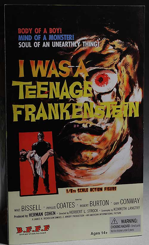 I was a Teenage Frankenstein action figure from Amok Time