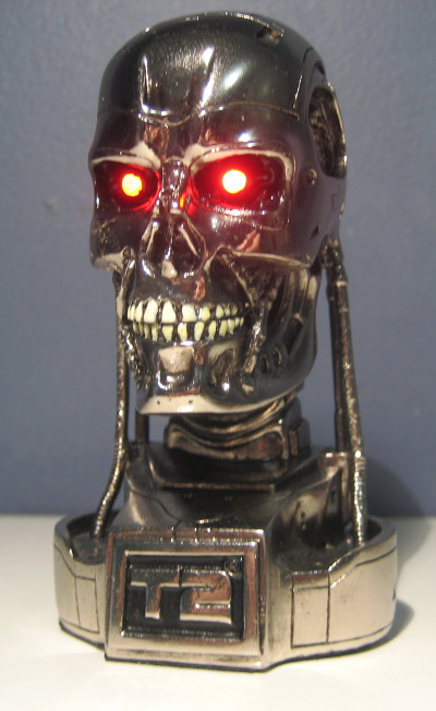 Terminator T-800 skull bust by Intelligent Entertainment