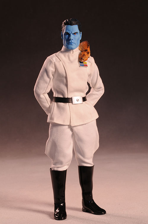 Admiral Thrawn Star Wars sixth scale action figure from Sideshow Collectibles
