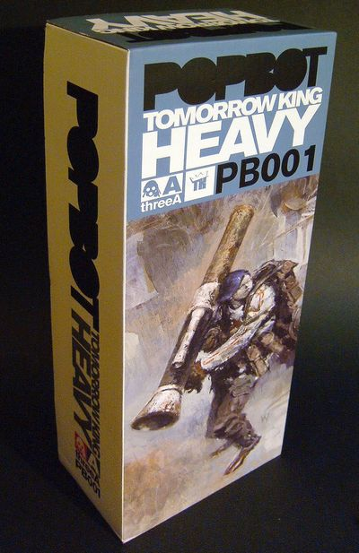 Popbot Tomorrow King Heavy action figure by 3A Toys