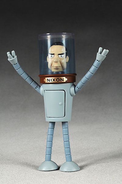 Futurama Bender action figure nixon head