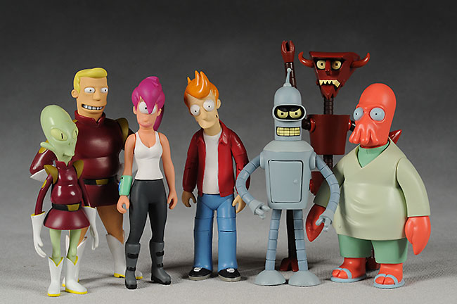 toynami futurama action figures