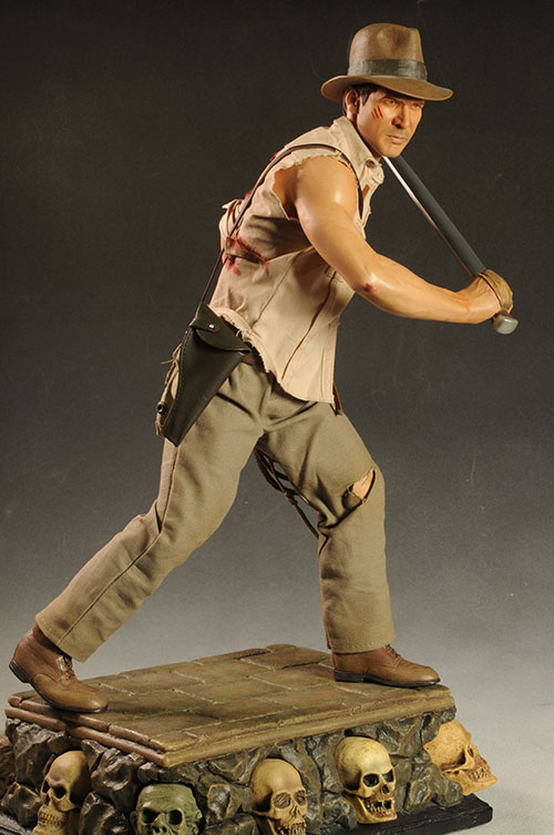 Indiana Jones Temple of Doom Premium Format statue by Sideshow Collectibles