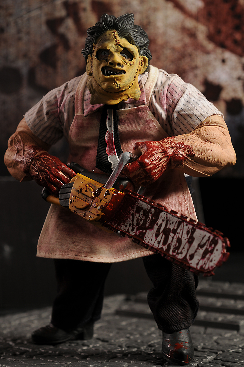 Texas Chainsaw Massacre Leatherface action figure by Mezco Toyz