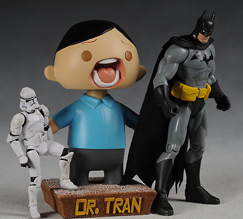 Dr. Tran bobble head
