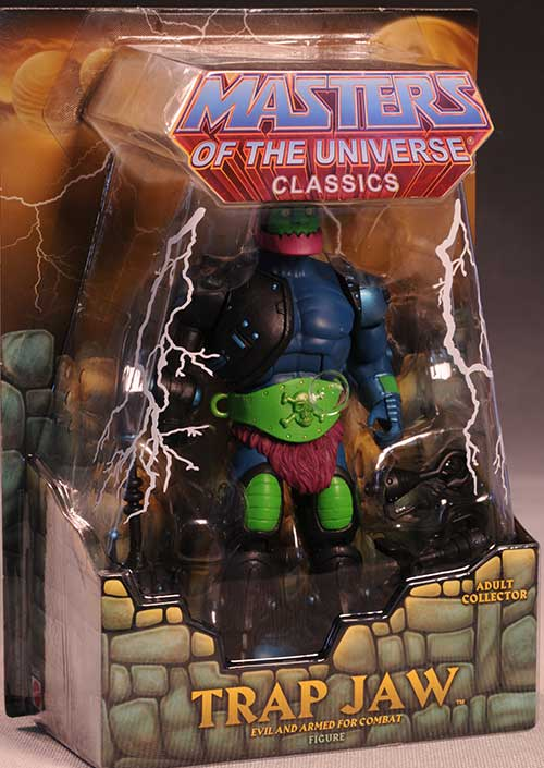 Trapjaw Masters of the Universe Classics action figure by Mattel