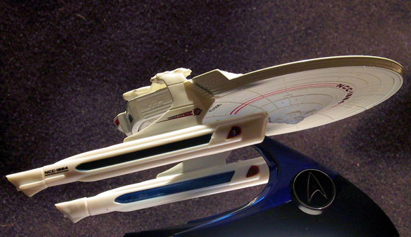Hot Whieels Star Trek ships by Mattel