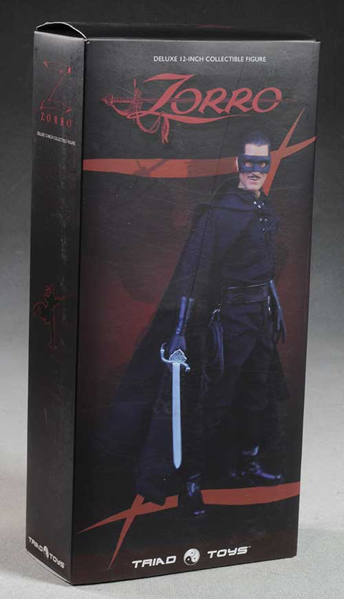 Zorro sixth scale action figure by Triad Toys