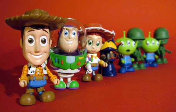 Toy Story Cosbaby action figures by Hot Toys