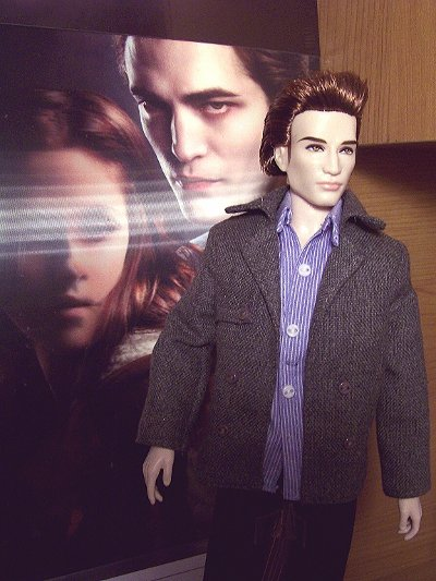 Twilight Edward Barbie doll by Mattel