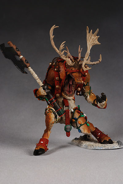 twisted christmas action figure
