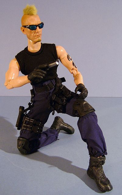 Tyrus Kilemahl Gunn 4 Hire action figure by Triad Toys