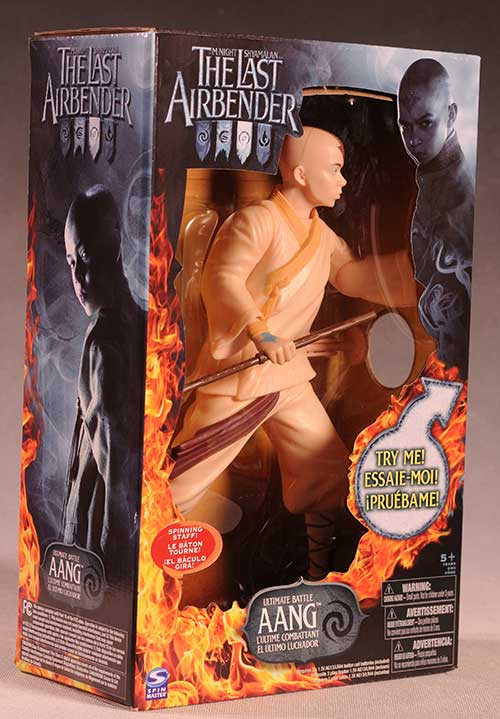 Last Airbender Ultimate Battle Aang action figure from SpinMaster
