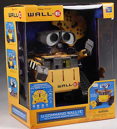 Thinkway Wall-E UCommand remote control action figure