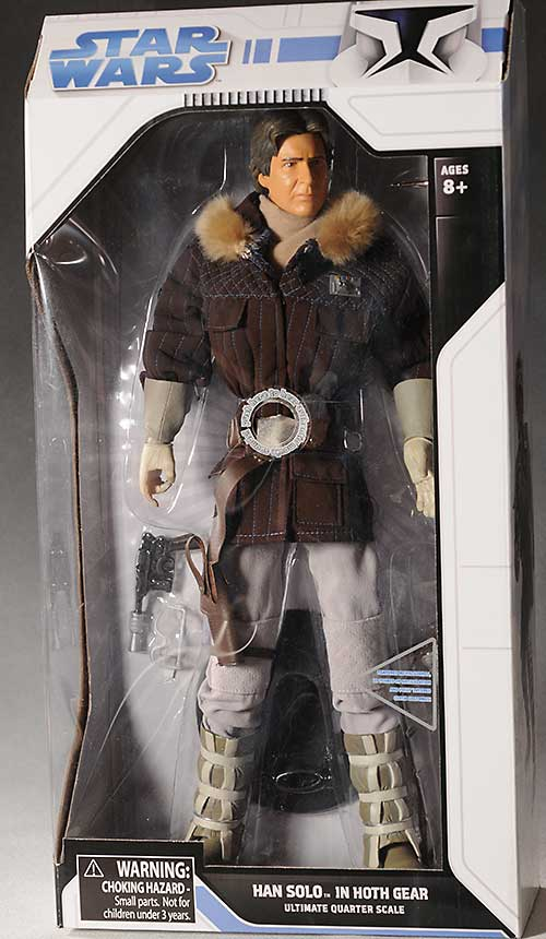Han Solo In Hoth Gear Ultimate Quarter Scale Action Figure