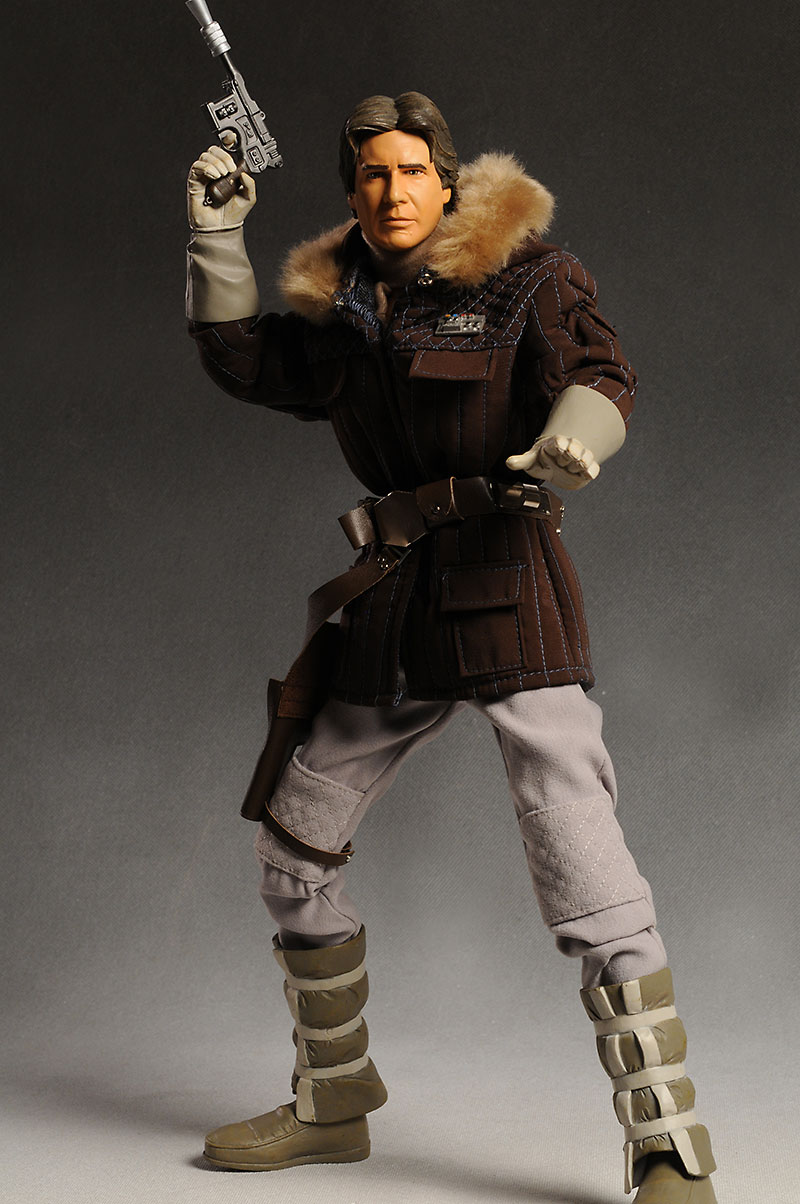 Han Solo in Hoth Gear Ultimate Quarter Scale action figure by Diamond Select Toys