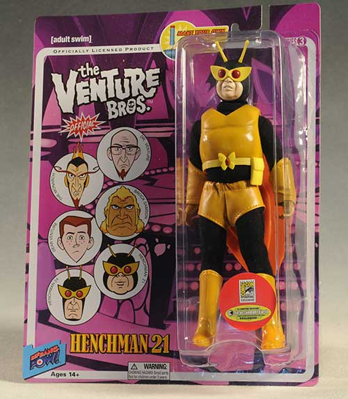 Venture Brothers action figures by Bif Bang Pow