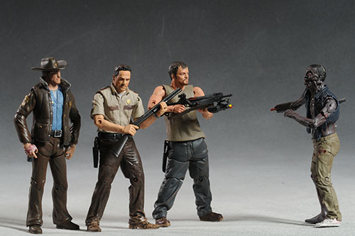 Walking Dead television show action figures series 1 by McFarlane Toys