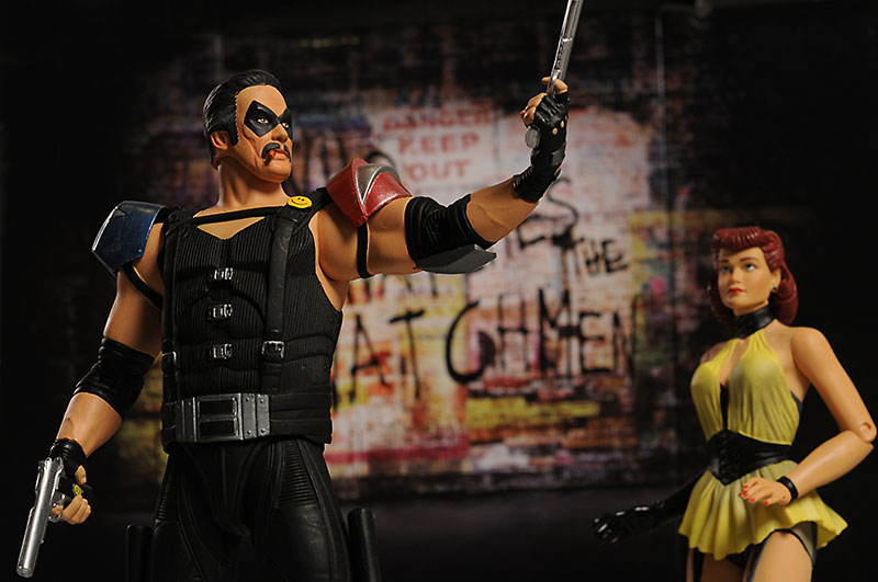 Watchmen series 2 action figures from DC Direct