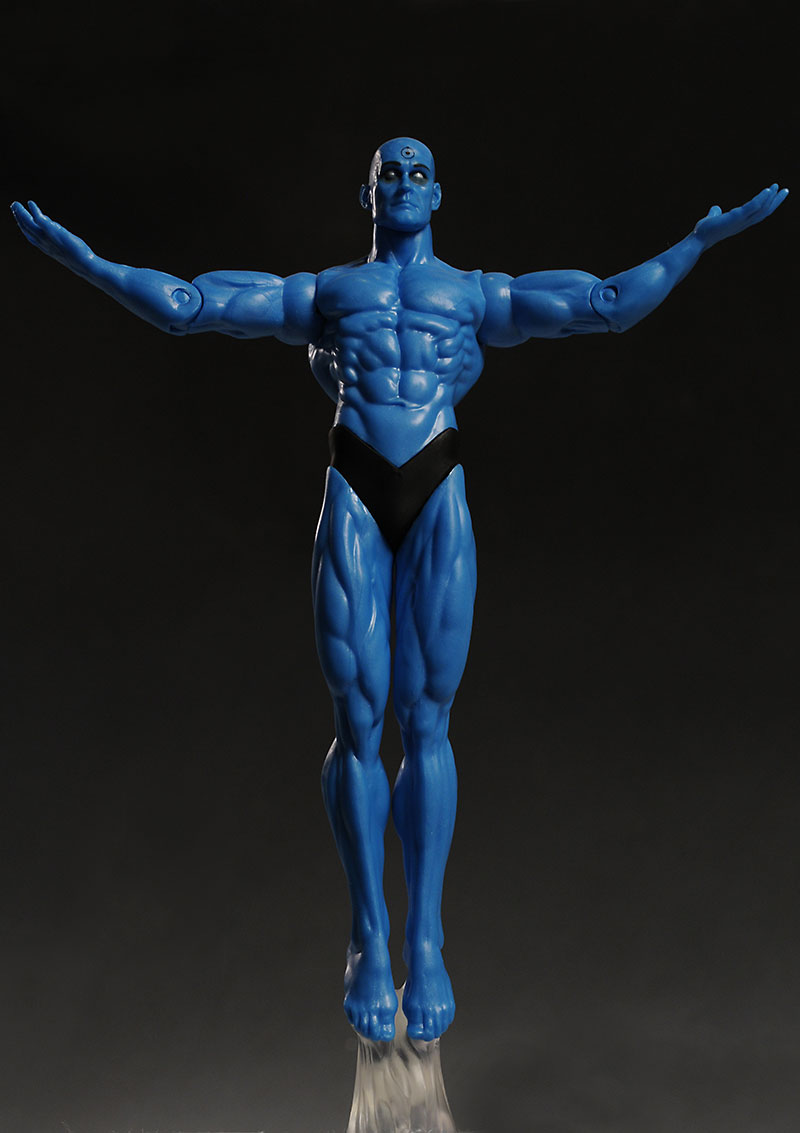 Watchmen series 2 Dr. Manhattan action figure from DC Direct