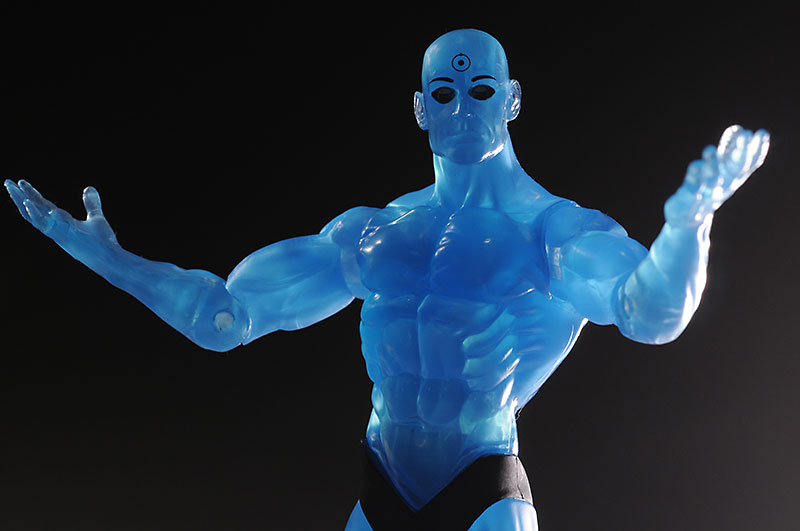Dr. Manhattan variant Watchmen action figures from DC Direct