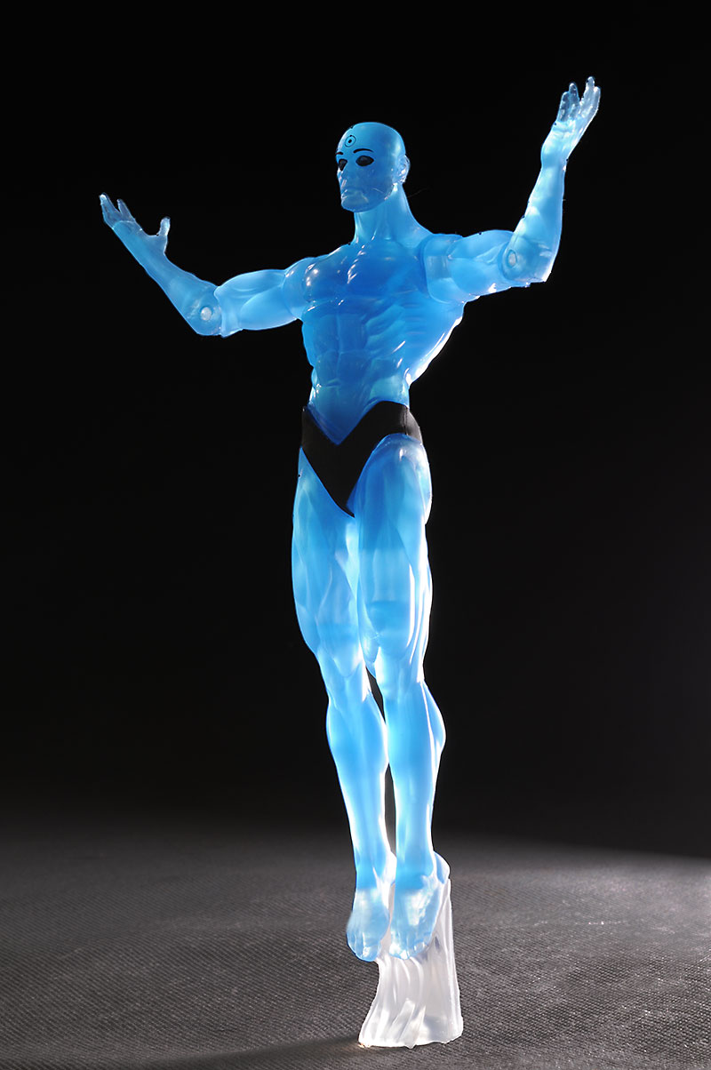 Dr. Manhattan variant Watchmen action figure from DC Direct