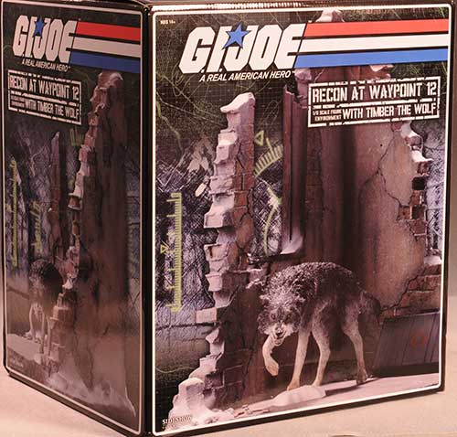 G.I. Joe sixth scale diorama Recon at Waypoint by Sideshow Collectibles