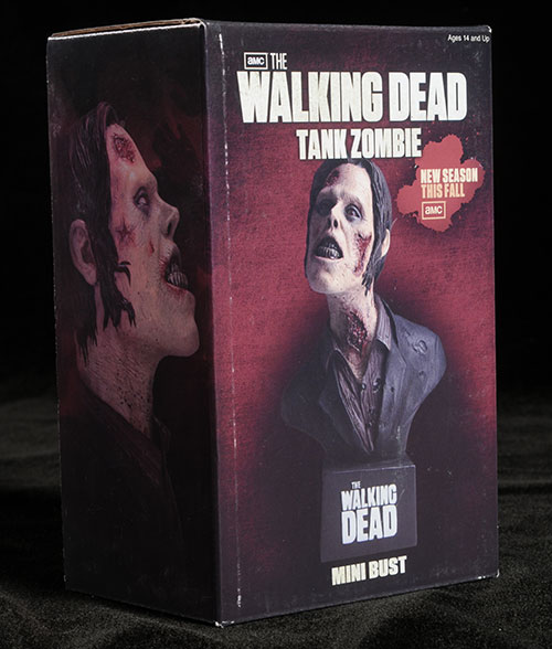 Tank Zombie mini-bust Walking Dead by NECA