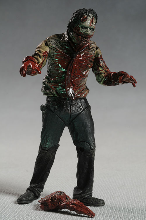 Zombie Toys R Us : Walking dead television series zombie action figures