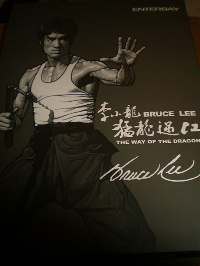 Enterbay BRUCE LEE The Way of The Dragon 1//6 LEFT HAND