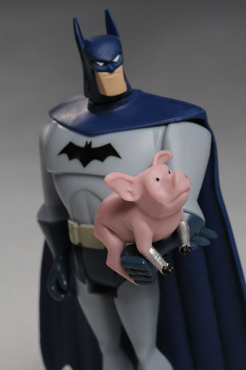 Wonder Pig Justice League Unlimited Batman action figures
