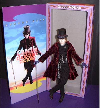 Willy Wonka action figure