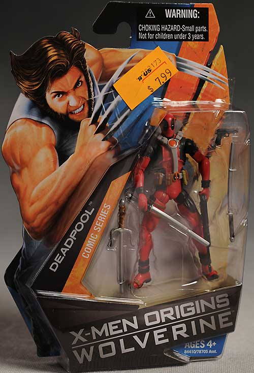 X-men Origins Wolverine Deadpool action figure from Hasbro
