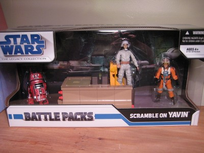 Scramble on Yavin Star Wars