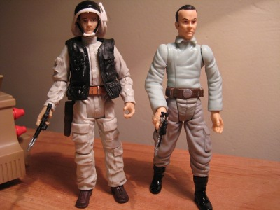 Scramble on Yavin Star Wars Battlepack action figures by Hasbro