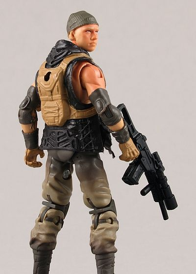 Zartan Pursuit of Cobra PoC G.I. Joe action figure