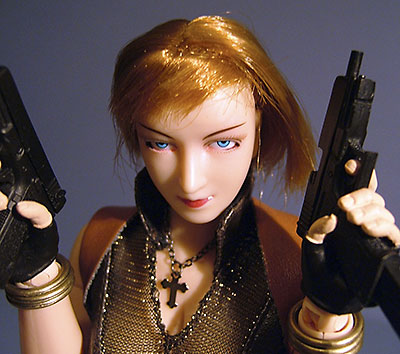Bank Robber Carol ZC Girl sixth scale action figure
