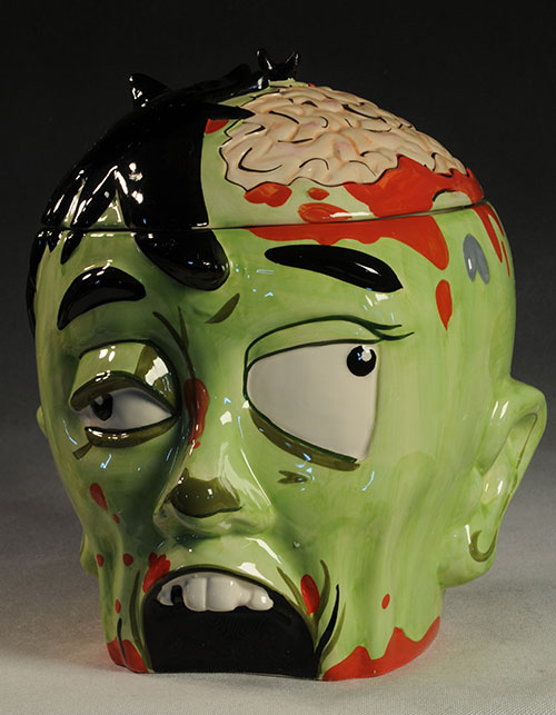 Zombie Cookie Jar by ThinkGeek and Symbiote Studios