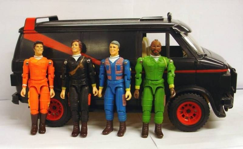 Galoob A-TEam action figures