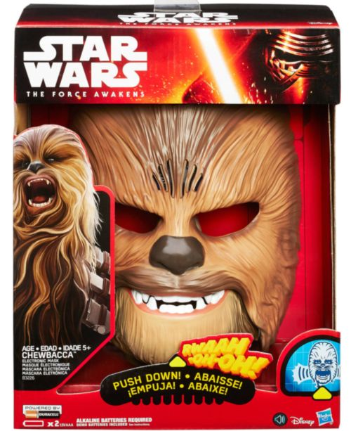 Talking Chewbacca Mask