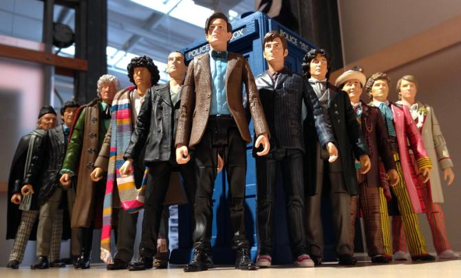 Character Options Dr. Who action figures