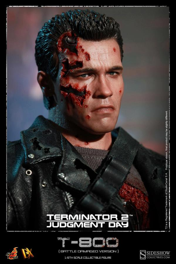 Terminator DX13 Hot Toys action figure
