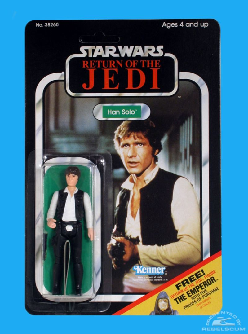 Star Wars Han Solo action figure