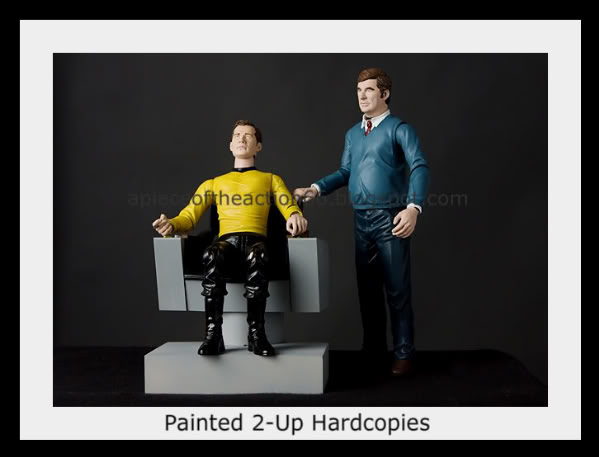 Palisades Captain Kirk/Gene Roddenberry action figures