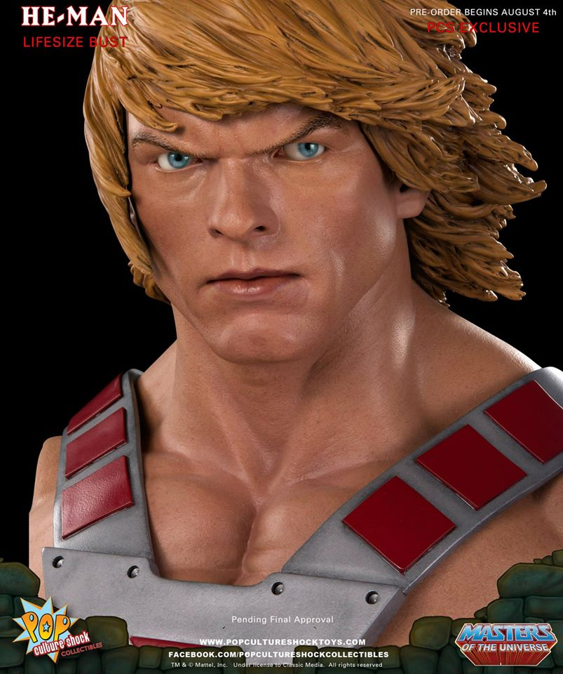Pop Culture Shock He-Man full size bust