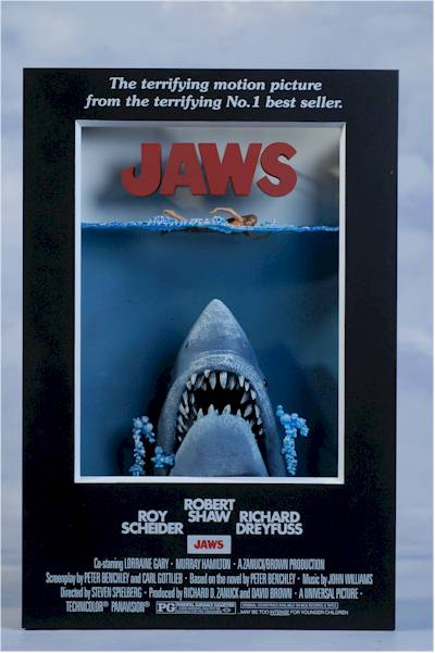Jaws 3D Poster