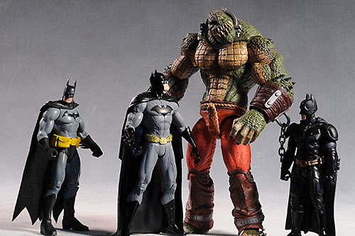 Arkham Deluxe Killer Croc action figure by DC Direct