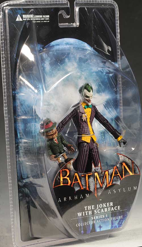 Arkham Asylum Series 1 action figures by DC Direct
